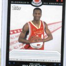 2008 McDonalds Topps All American William Buford Ohio State Buckeyes Basketball Card