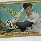 2003 Fleer Ultra When It Was A Game Luis Aparicio Chicago White Sox