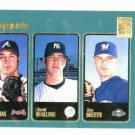 2000 Topps Ben Sheets Rookie Brewers Oakland A's