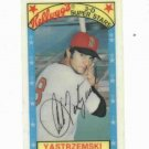 1979 Kelloggs 3D Super Stars Carl Yastrzemski Boston Red Sox