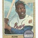 1968 Topps Hank Aaron Atlanta Braves