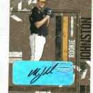 2004 Donruss Leather & Lumber Mike Johnston Autograph Rookie Pittsburgh Pirates