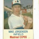 1975 Hostess Mike Jorgensen Montreal Expos # 105 Nice