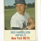 1975 Hostess Bud Harrelson New York Mets # 45 Nice