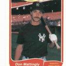 1985 Fleer Limited Edition Don Mattingly New York Yankees Oddball