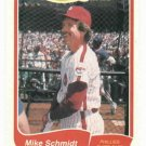 1985 Fleer Limited Edition Mike Schmidt Philidelphia Phillies Oddball