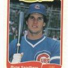 1985 Fleer Limited Edition Ryne Sandberg Chicago Cubs Oddball