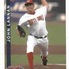 2010 Washington Nationals John Lannan Post Card SGA