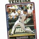 2005 Topps Mark Teixeira Texas Rangers Yankees