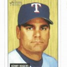 2005 Bowman Heritage Kenny Rogers Texas Rangers