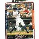 2005 Topps Brandon Inge Detroit Tigers