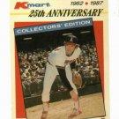 1987 Kmart Nolan Ryan Oddball Baseball Card Angels Rangers