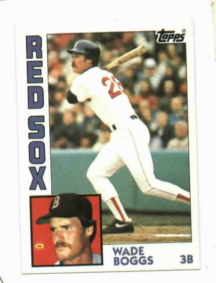1984 Topps Wade Boggs Boston Red Sox