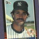 1985 Donruss Don Mattingly New York Yankees