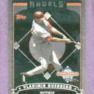 2006 Topps National Baseball Card Day Vladimir Guerrero Angels Oddball