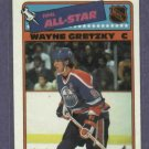 1988 Topps Sticker Wayne Gretzky Edmonton Oilers