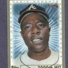 2000 Topps Hank Aaron 3000th Hit Atlanta Braves