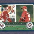 2003 Topps Chase Utley Gavin Floyd Philidelphia Phillies Rookie Card