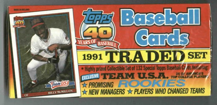 1991 Topps Traded Complete Set Ivan Rodriguez Jason Giambi ROOKIES SEALED