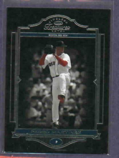 2004 Donruss Timeless Treasures Pedro Martinez Boston Red Sox #D/ 999