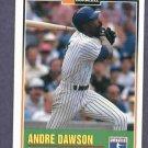 1993 Duracell Andre Dawson Chicago Cubs Oddball