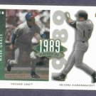 2002 Upper Deck 1989 Flashbacks Mark Grace Cubs Diamondbacks #D/ 4225