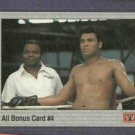 1991 All World Muhammad Ali Bonus Card 4