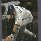 2001 Fleer Futures Characteristics Alex Rodriguez Mariners Yankees