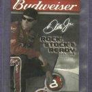 1993 Budweiser Nascar Pocket Schedule Dale Earnhardt Jr.