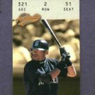 2003 Fleer Authentix Ticket Studs Ichiro Suzuki Seattle Mariners