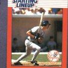 1988 Kenner Starting Lineup Don Mattingly Baseball Card New York Yankees Oddball