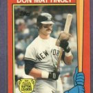 1989 Topps Active Leaders Don Mattingly New York Yankees Oddball