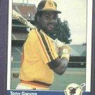 1984 Fleer Tony Gwynn San Diego Padres