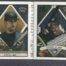 2003 Topps 205 Derek Jeter Alfonsio Soriano Folder New York Yankees