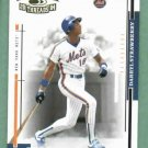 2004 Donruss Throwback Threads Darryl Strawberry New York Mets #D /1000