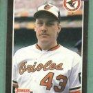 1989 Donruss Curt Schilling Baltimore Orioles Rookie