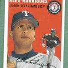 2003 Topps Heritage Alex Rodriguez Texas Rangers Yankees SP