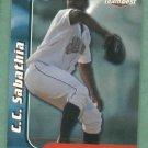 1999 Team Best CC Sabathia Pre Rookie Oddball Mahoning Valley Scrapers Indians