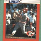 1988 Kenner Starting Line Up Pete Rose Cincinnati Reds Oddball