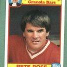 1986 Quaker Chewy Granola Pete Rose Cincinnati Reds Oddball