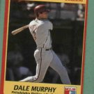 1991 Jimmy Dean Signature Edition Dale Murphy Philidelphia Phillies Oddball