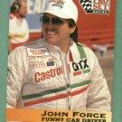1992 Pro Set John Force NHRA Racing Card