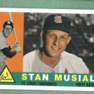 2011 Topps 60 Years Of Topps Stan Musial St Louis Cardinals Insert