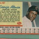 1962 Post George Altman Chicago Cubs # 187