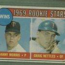 1969 Topps Graig Nettles Minnesota Twins Rookie