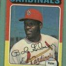 1975 Topps Bob Gibson St Louis Cardinals