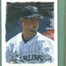 2003 Playoff Portraits Josh Beckett Florida Marlins Red Sox #D / 250