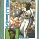 2001 Topps Traded Reprint Dwight Gooden New York Mets Rookie