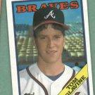 1988 Topps Tom Glavine Atlanta Braves Rookie # 779