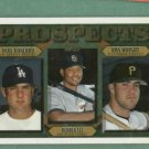 1997 Topps Paul Konerko Derrek Lee Rookie Dodgers Padres